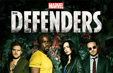 The Defenders Shot at Gold Coast Studios